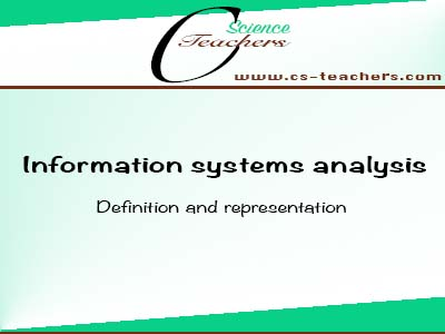 Definition and representation of an information system