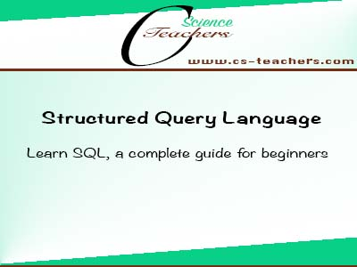 Learn SQL, a complete guide for beginners